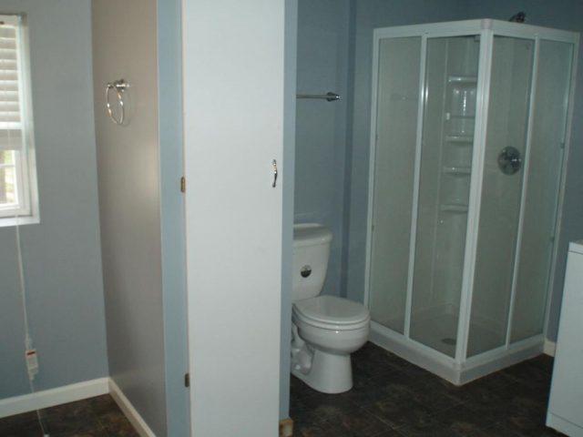 basement spare room bathroom