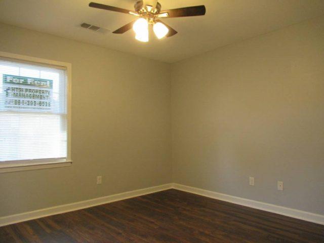 hardwood floor bedroom