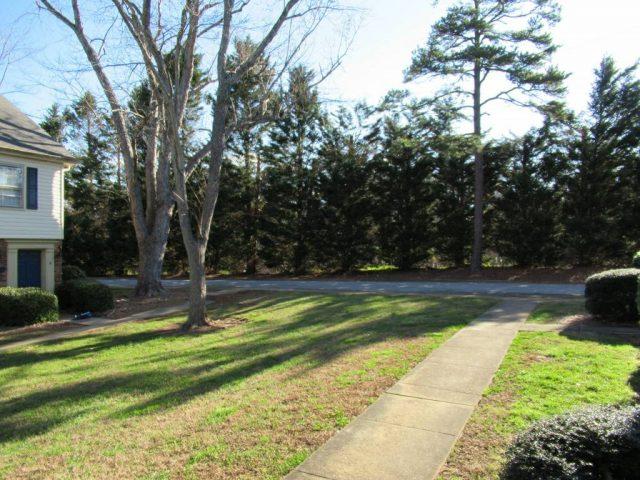 public courtyard walkway