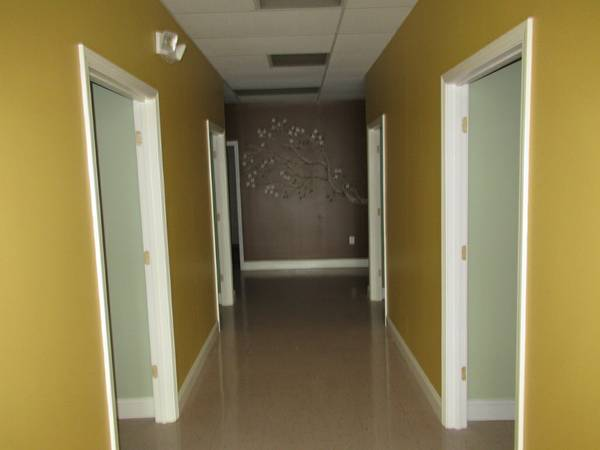 offices off hallway